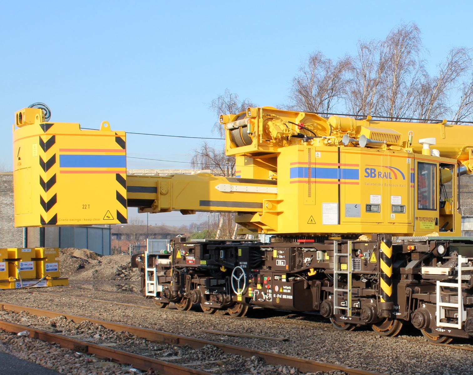 Kirow Krc 250 Uk Extending Counterweight Sb Rail