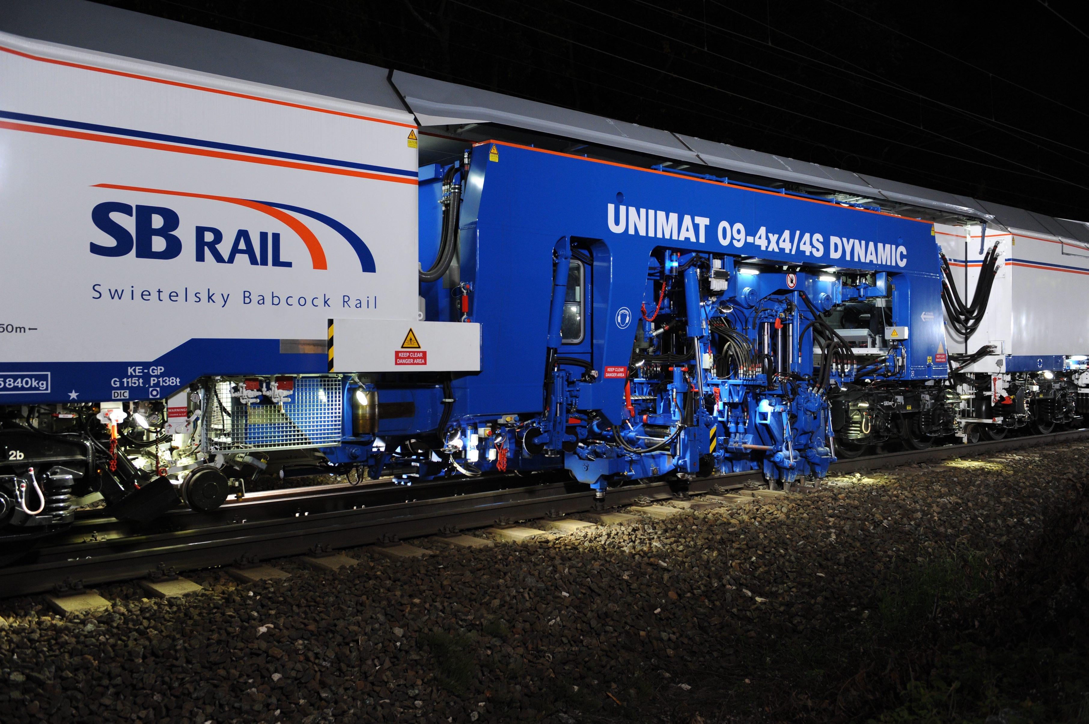 Plasser & Theurer 09-4x4/4S Dynamic - SB Rail Case Studies